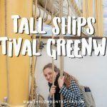 Tall Ships Festival in Greenwich Londen