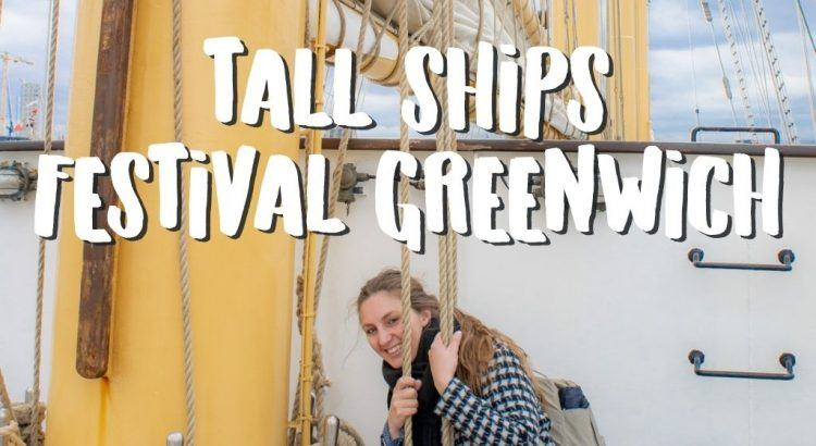 Tall Ships Festival in Greenwich Londen || The London Tester