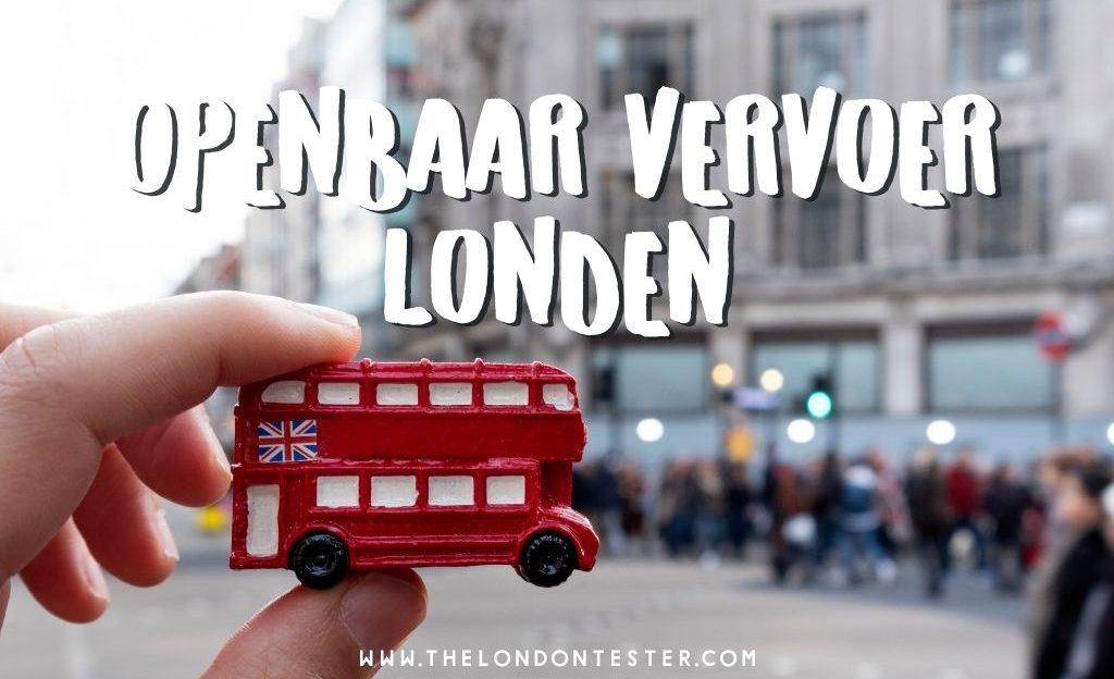 Openbaar Vervoer in Londen: Al je Opties op een Rij [VIDEO]