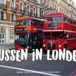 Bussen in Londen – Tips & Advies