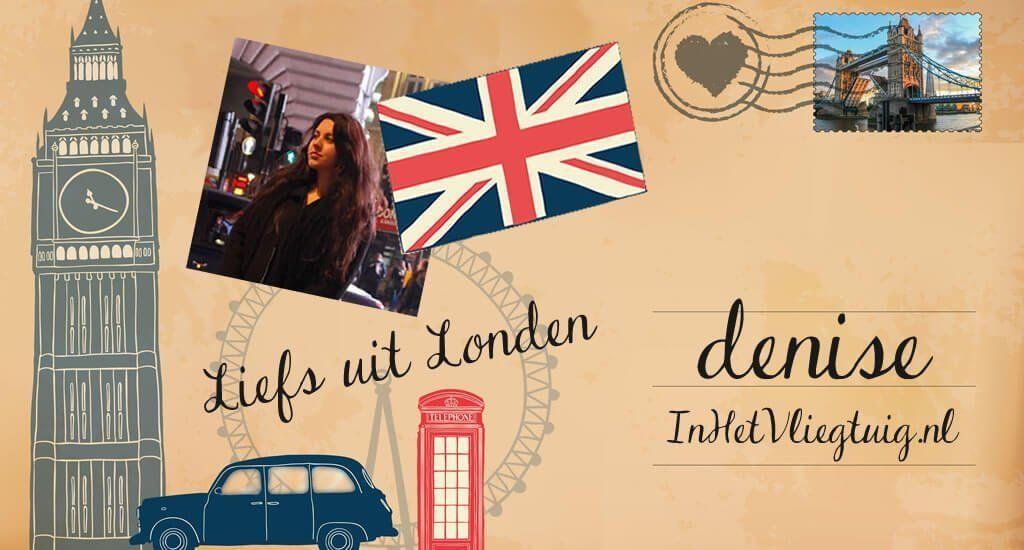 Liefs uit Londen: Denise van In het Vliegtuig || The London Tester