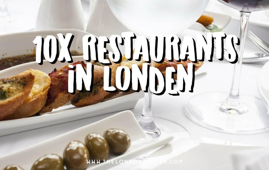 10 Restaurants in Londen die je niet wilt Missen Volgens deze Top Bloggers || The London Tester