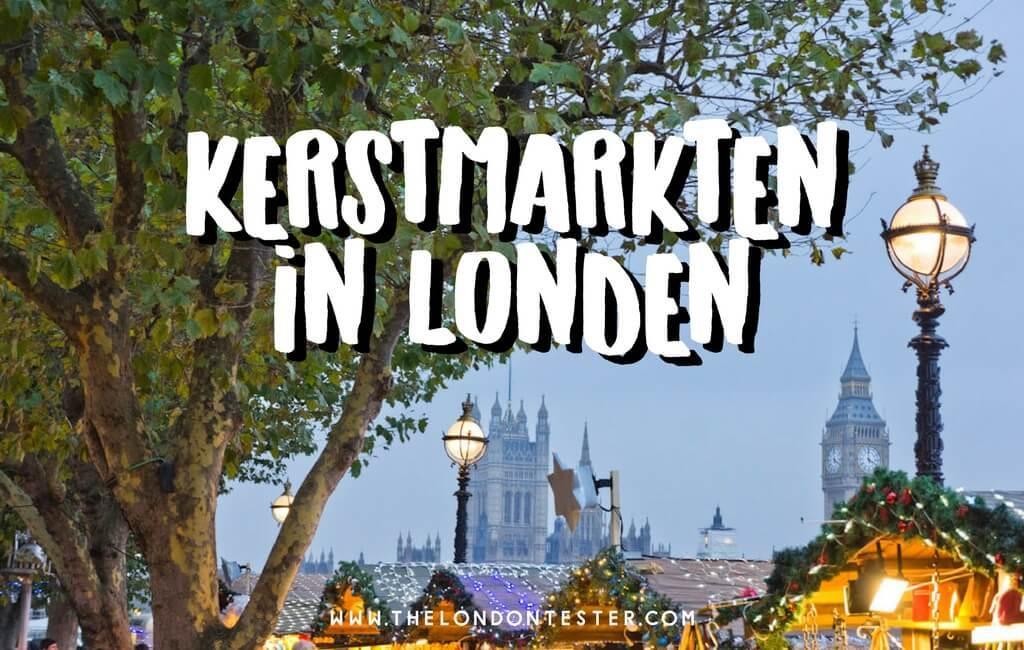 Top 10 Kerstmarkten in Londen Die Je Niet Wilt Missen || The London Tester