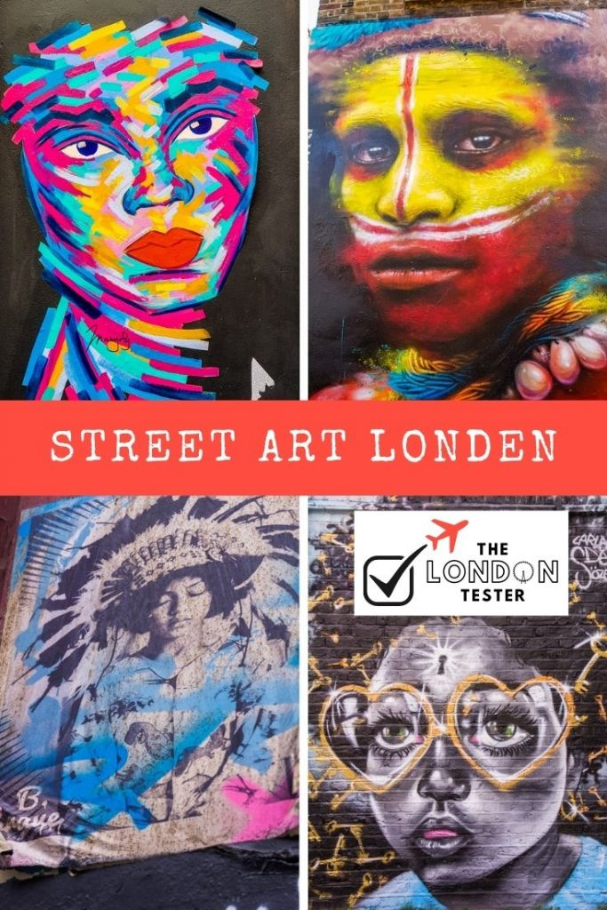 15x Street Art Shoreditch Londen: Prachtige Portretten    The London Tester
