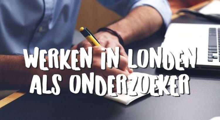 Werken in Londen als Onderzoeker bij de Gemeentelijke Ombudsman - Interview met Joost || The London Tester