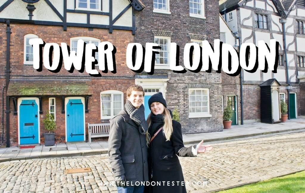 Bezoek de Tower of London en Ontbijt met de Raven! || The London Tester