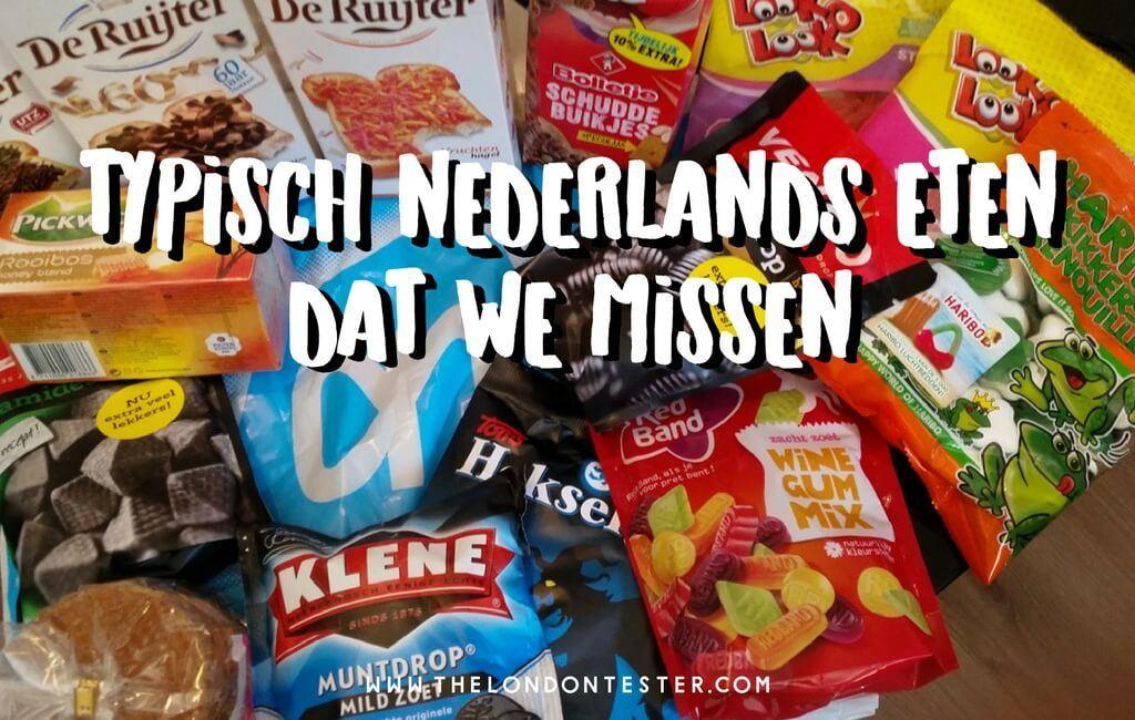Typisch Nederlands Eten Dat ik Mis (En Hoe We Dat Oplossen Hier in Londen)
