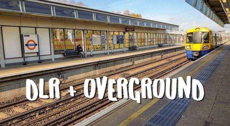 Docklands Light Railway (DLR) en Overground in Londen - Bovengronds Openbaar Vervoer! || The London Tester