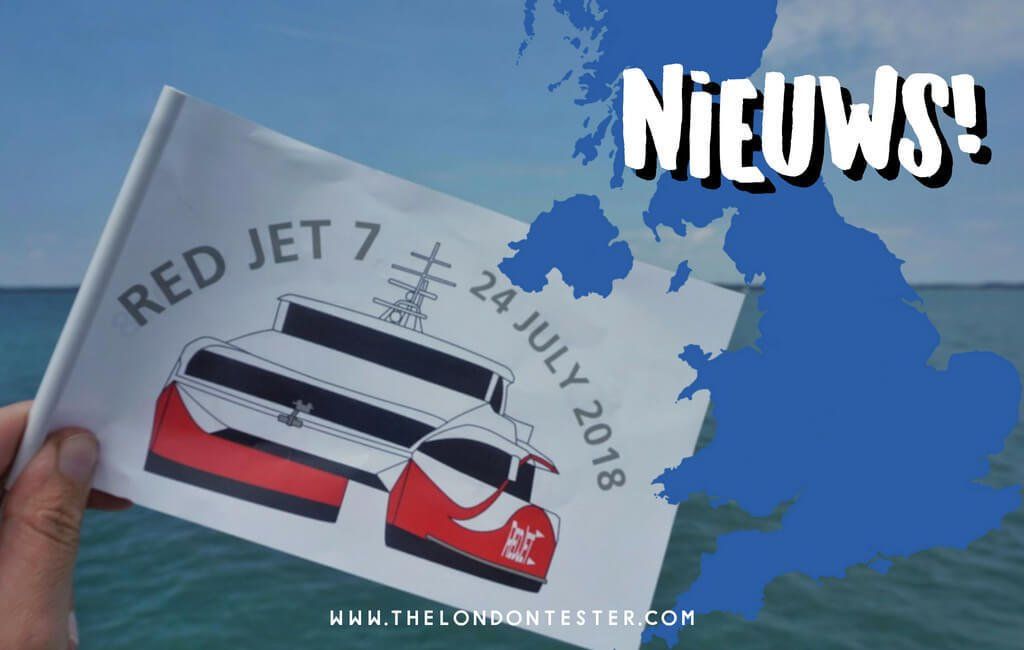 Red Funnel Lanceert Nieuwe Hi-Speed Ferry Naar Isle of Wight in Engeland || The London Tester