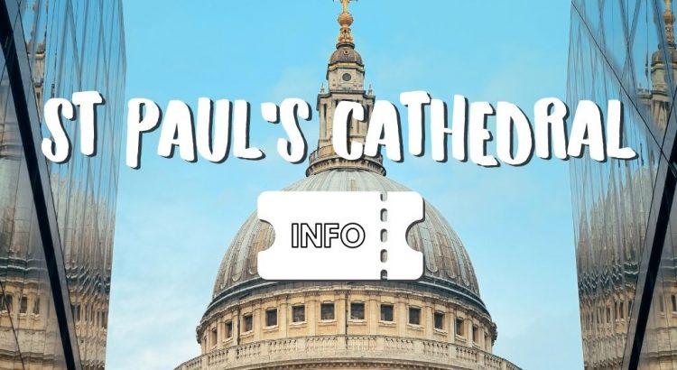 St Paul's Cathedral Bezoeken in Londen: Leuke Weetjes & Handige Tips
