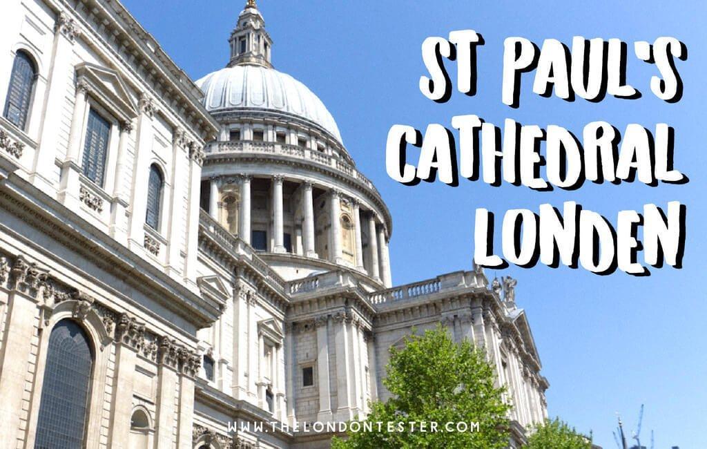 St Paul's Cathedral Londen: Een Bijzonder Uitzichtspunt Over De Stad! || The London Tester || #Londen #London #Cathedral #Architecture #StPaulsCathedral #Travel #CityGuide