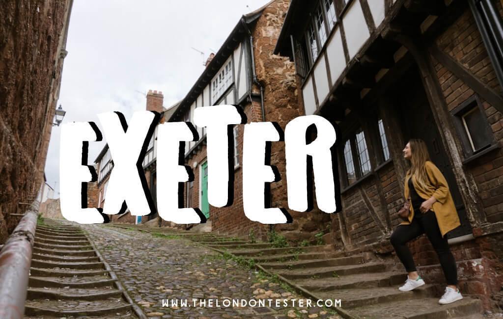 Wat te doen in Exeter? Ontdek deze Foodie Bestemming Tijdens een Weekend Break! || The London Tester