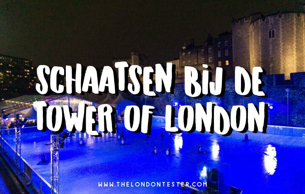 Naar Londen met Kerst? Ga Zeker Schaatsen bij de Tower of London! || The London Tester