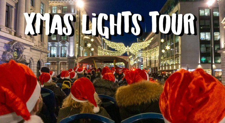Weekend Londen Kerstreis: Mis de Christmas Lights Tour Niet! || The London Tester || #London #Londen #Christmas #Kerstmis #BusTour #Travel