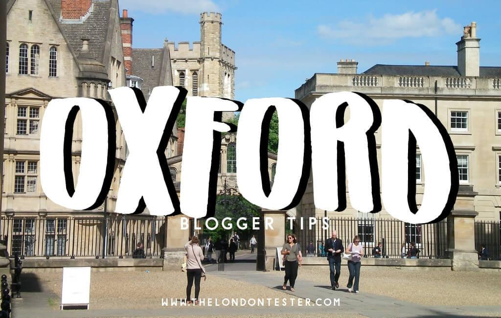 De Leukste Bezienswaardigheden in Oxford Engeland Volgens Reisbloggers!
