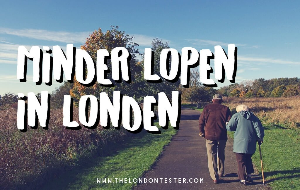 Met Oma Naar Londen - Tips Voor Weinig Lopen in Londen || The London Tester