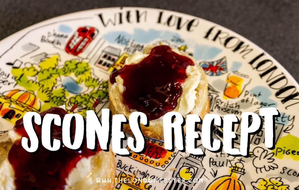 Recept Engelse Scones met Clotted Cream en Jam - Perfect voor met de Pasen! || The London Tester