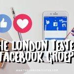 Sluit je Gezellig aan bij The London Tester Facebook Groep!