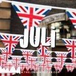 Wat te doen in Londen in Juli? Check de Evenementenkalender!