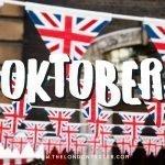 Wat te doen in Londen in Oktober? Check de Evenementenkalender!