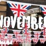 Wat te doen in Londen in November? Check de Evenementenkalender!