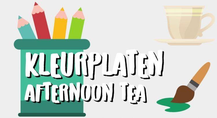 Gratis Afternoon Tea Kleurplaten om te Printen || The London Tester