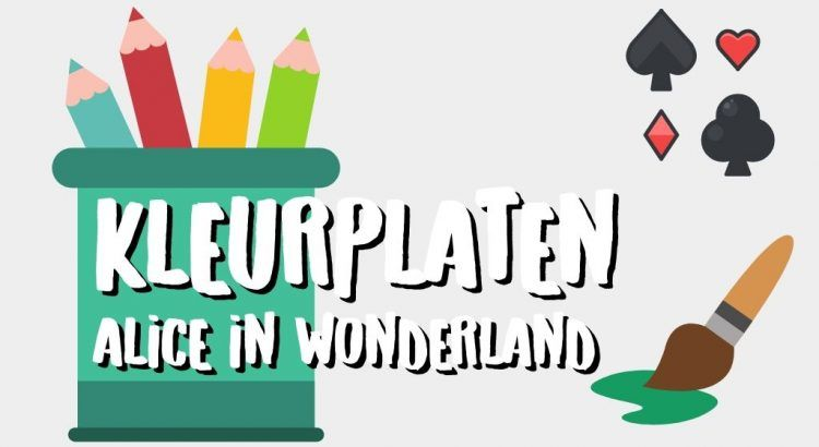 Gratis Alice in Wonderland Kleurplaten om te Printen || The London Tester