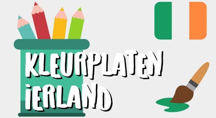 Gratis Ierland Kleurplaten om te Printen || The London Tester