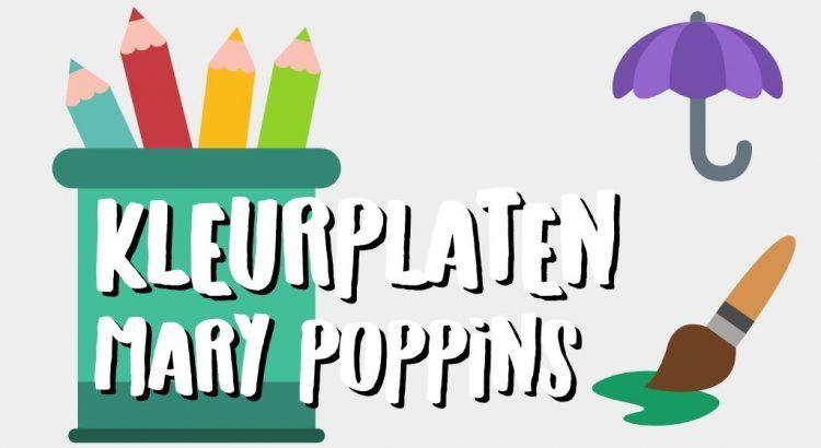 Gratis Mary Poppins Kleurplaten om te Printen || The London Tester