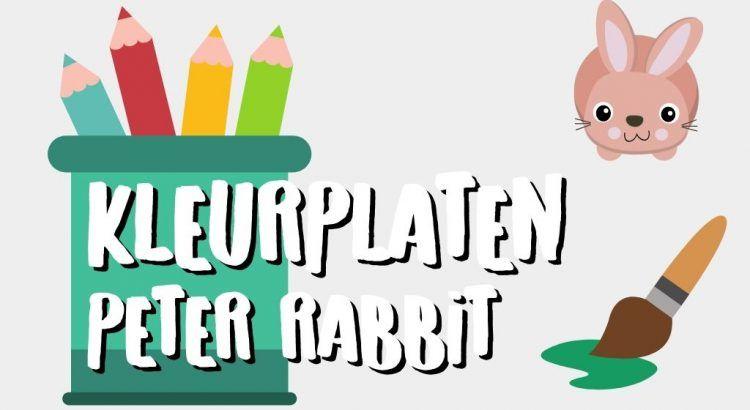 Gratis Peter Rabbit Kleurplaten om te Printen || The London Tester