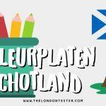 Gratis Schotland Kleurplaten om te Printen