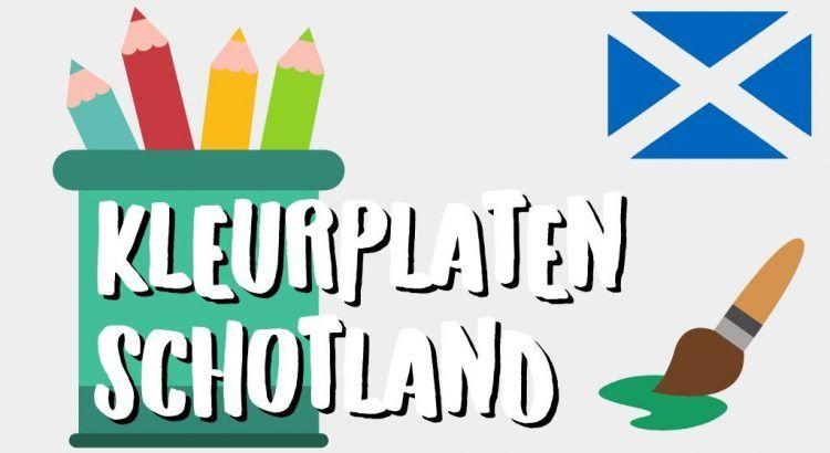 Gratis Schotland Kleurplaten om te Printen || The London Tester