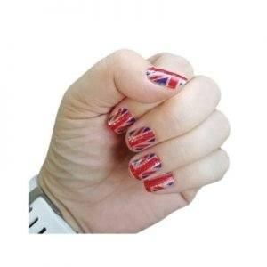 Union Jack Nail Art Stickers