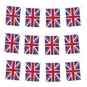 Union Jack Rechthoek Vlaggenlijn 10 Meter