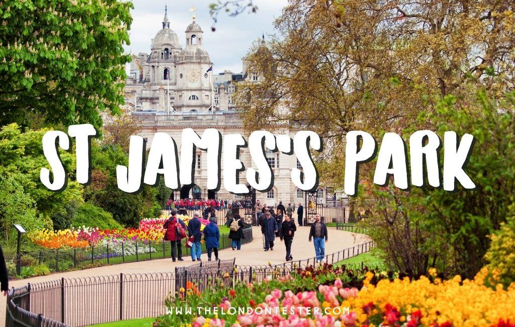 St James's Park Londen – Leuke Weetjes & Handige Tips