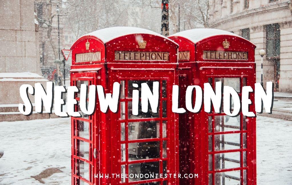 Zo Ziet Sneeuw in Londen Eruit [Hint: Het is Prachtig!]