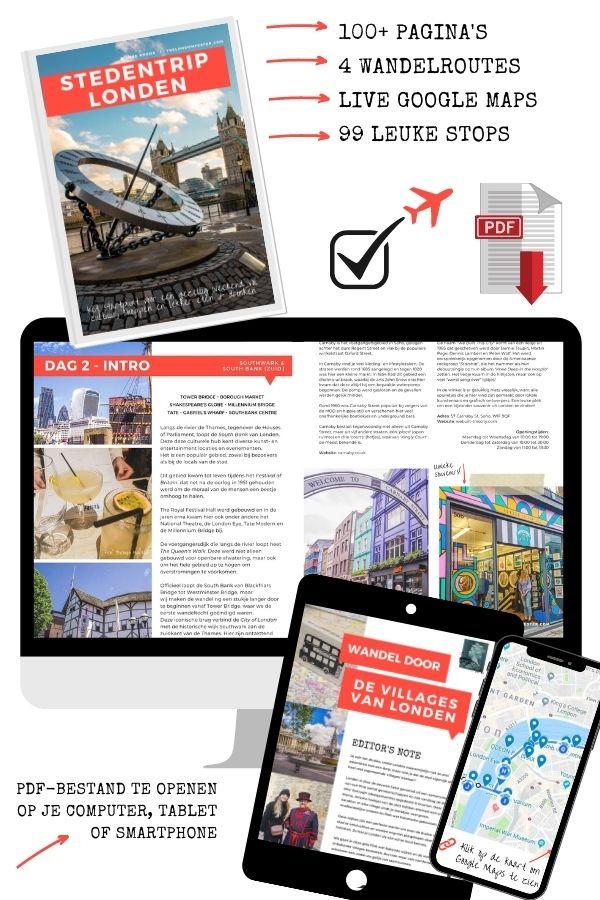 Stedentrip Londen Ebook door The London Tester